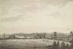 East view of Oxford